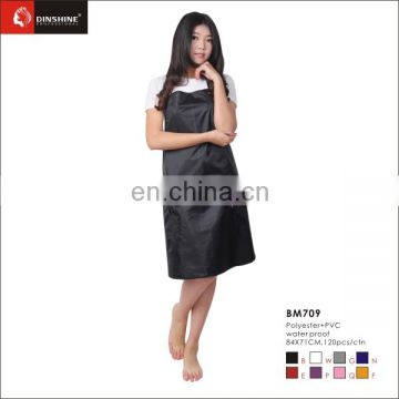 black apparel good quality nylon salon tablier salon apron
