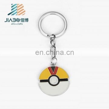12 Style Pocket Monster Pokemon Pikachu Poke Ball Anime Keychain Keyring Pendant
