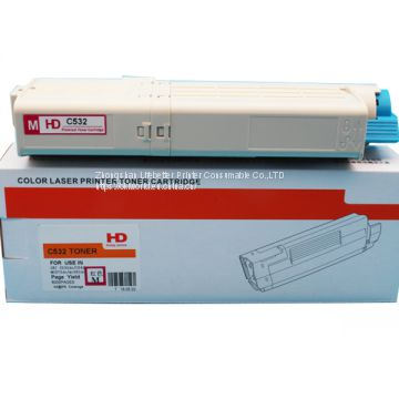 Toner Cartridge for use in OKI C532dn/C542dn/MC573dn/MC563dn printer