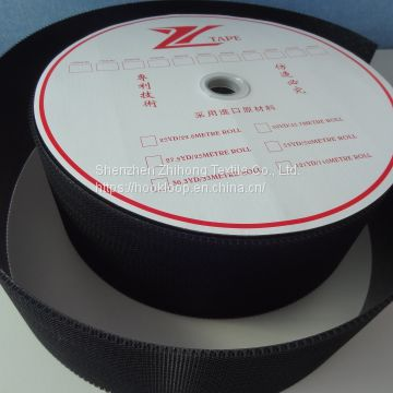 Super ultra heavy duty thick injection molded nylon plastic hook fastener tape for electric tools