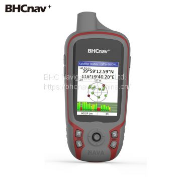 Professional Handheld GPS Device BHCnav NAVA F60 with Altimeter for Surveyor