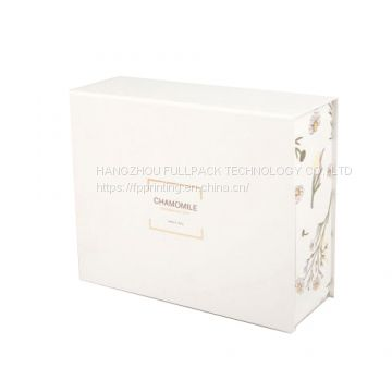 Matte Laminated  Book Type Paper Gift Box with Custom Logo