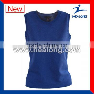 custom made training singlet cotton y-back singlet gym singlets