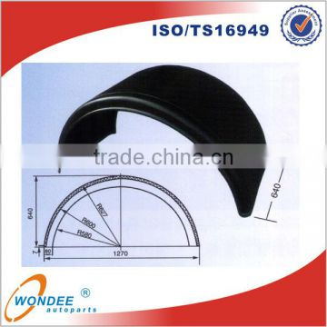 China WONDEE High Quality Semi Trailer Mud Guard