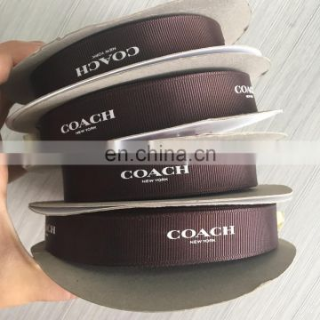 New! Free Rish Beautiful Zeal-x Packing Shenzhen Specialized Glossy Printing Logo Satin Ribbon