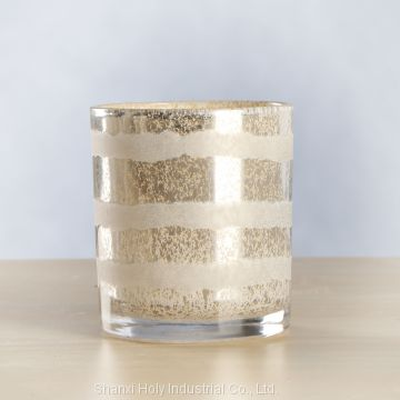 Wholesale Fashion High Quality Cheaper Glass Candle Holder