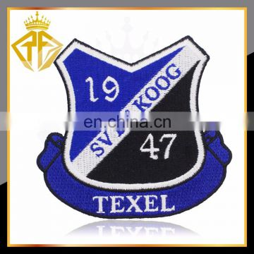 Hot Selling Custom School College Patch Embroidery Clothing Patch