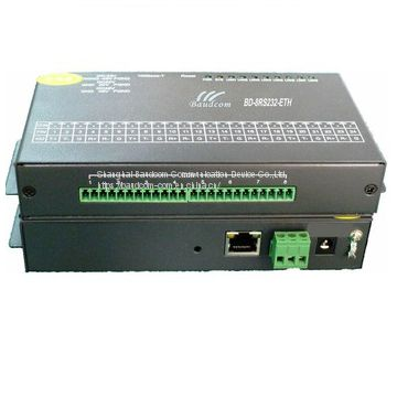 4 channel RS232 Serial to Ethernet Converter Console server