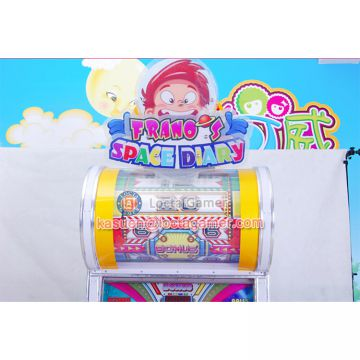 China Zhongshan Locta redemption amusement park equipment funny play Space Diary indoor, coin operated, gift machine
