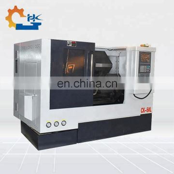 Direct factory optional live tooling slant bed hard guideway mini cnc lathe