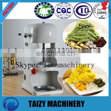 fruit juice snow ice shaver machine/ milk snow ice making machine