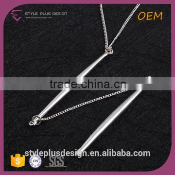 N72550S01 Fancy Long Necklace Mini Hidden Camera Design With Iron Bar From Long Elegant Necklace