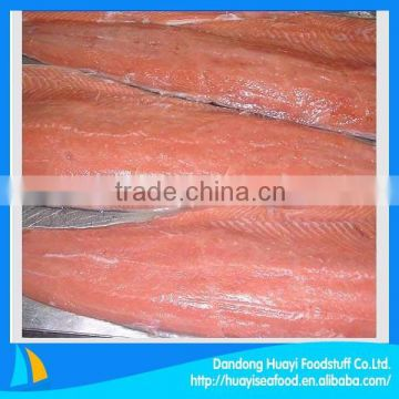 high quality fresh raw materials frozen salmon fillet