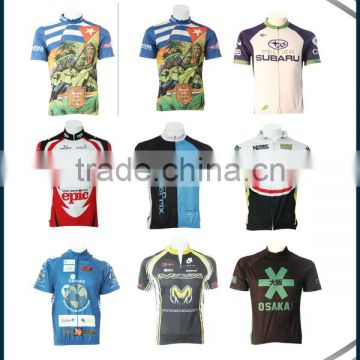 Sublimation bicycle pants/bike/professional team uniform rock racing bike uniforms and shorts