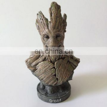 Best seller Resin/GLASS tree monster bust for decoration
