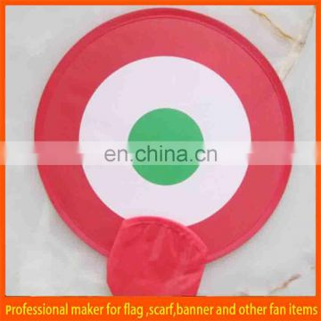custom collapsible flying frisbee