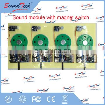 Recordable greeting card sound chip