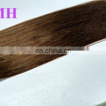 Silky Straight Dark Brown Hair Indian Virgin Hair remy Hair Weave
