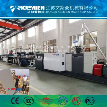 Recycled Building Fireproof Template Machinery