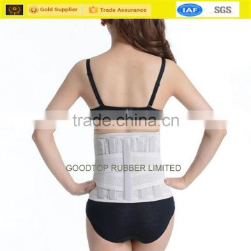 Medical elastic waist belt hook and loop fastener waist slimming belt                                                                         Quality Choice