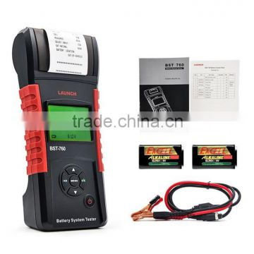 Launch Distributor Original BST760 Battery Tester machine Launch BST-760 Battery Tester Support English/Russian auto diagnostic