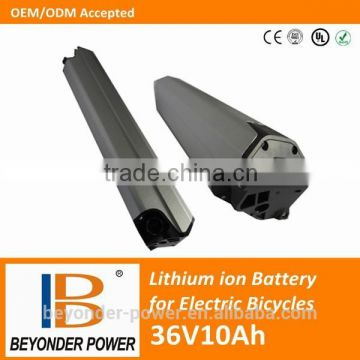 battery factory,li-ion 18650 bottle battery 36V10Ah for electrical bicycles,scooters with CE, RoHS