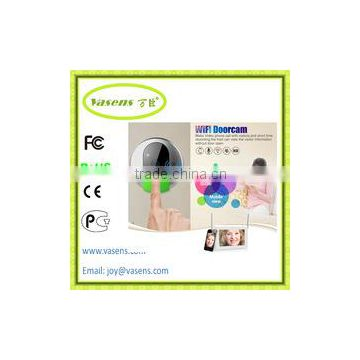 Android ABS Plastic unlcok short time recording visitor
