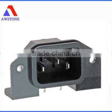 custom Plastic terminal box with metal insert plastic injection mould
