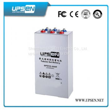 Opzv Battery with UL94-V1 Certificate for Solar Power and Wind Power Application