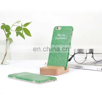 New Arrival Phone Accessories Mobile Case Green Lawn Printing Yiwu Suppler