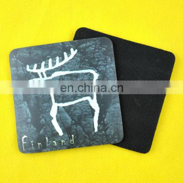 Fashion animal design printed custom mug coaster