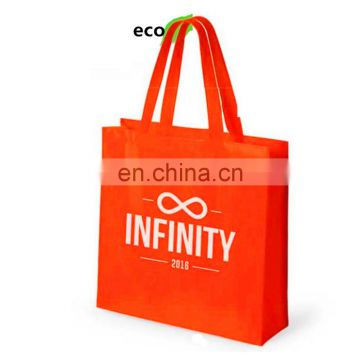 Custom Logo Printed Cheap Reusable Shopping Non Woven Bag / Tote Bag