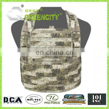600D Polyester Fabric Horse Riding Wargame Security Tactical Vest