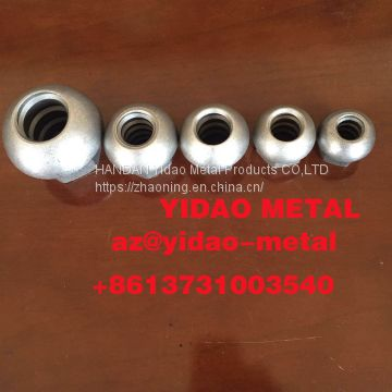 High strength  Domed Nut/Anchor/reinforce thread bar/post-tensioning accessory/Black or Z.P