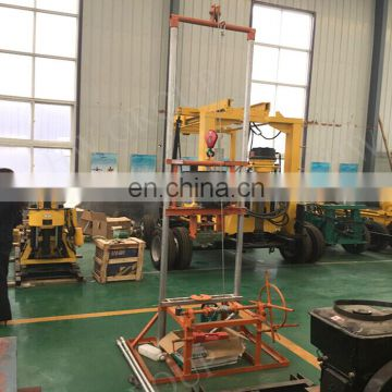 High precision manual small water well drilling machine portable drilling rig for sale
