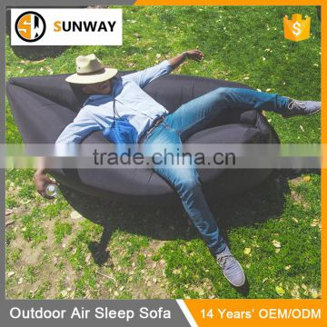 Hot Sale Inflatable Outdoor Air Filled Hammock Inflatable Hangout Sofa