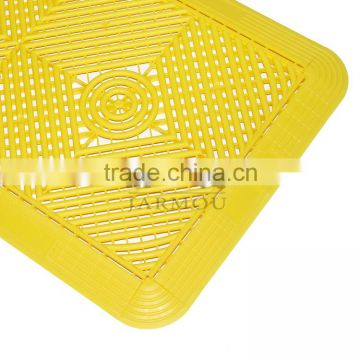 anti-slip plastic bath mat floor