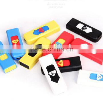 USB Rechargeable Flameless Cigar Cigarette Smoke Electronic Lighter No Gas