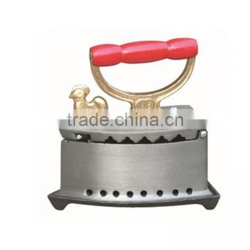 2015 new style cast iron Cock charcoal iron with best quality and price