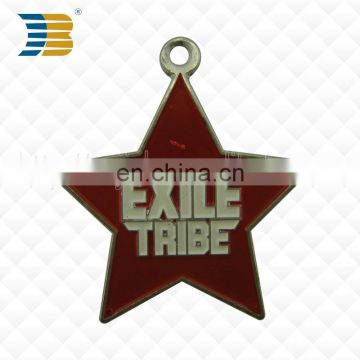 low sale price custom metal star shaped charming pendant