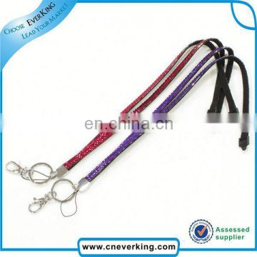 bulk beautiful red blue and white crystal rhinestone lanyard