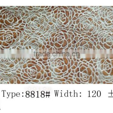 2015Water soluble lace design hair accessories flower New arrival lace fabric gowns elastic lace many color and style