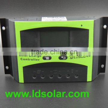 30a 48v pwm solar charge controlle with built-in sensor