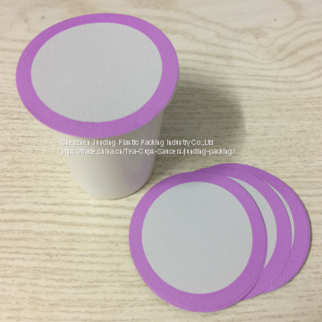 New design intergrated k-cup filter paper keurig coffee capsule k-cup coffee packing direct suppler