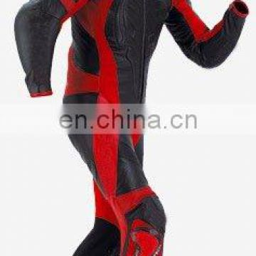 Leather Motorbike Racing Suit (L-S 001)