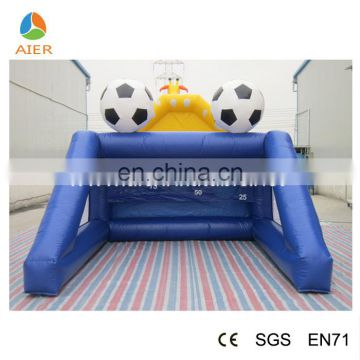 AIER inflatable football goal posts/cheap inflatable sports/inflatable football bouncer field