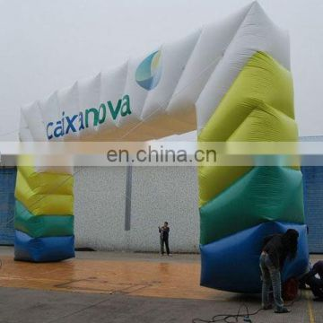 inflatable promotional digital printing arch/inflatable archway/event arch/advertising arch/display arch /inflatable arch door