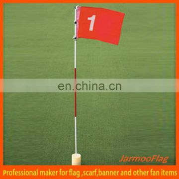 nylon advertising golf flag