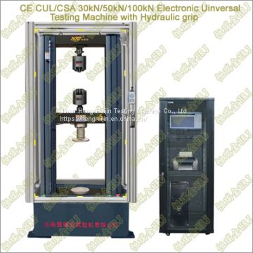 Computer Control Electromechanical Universal Testing machine with Protective Cover