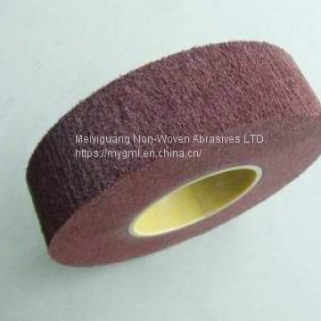 non woven flap wheel, flap brush, interleaved flap wheel